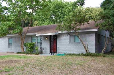 Single Family Home For Sale: 3305 Southerland Drive