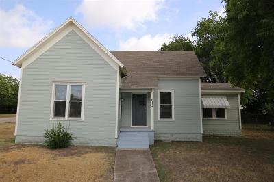 McGregor Single Family Home For Sale: 615 W 6th Street