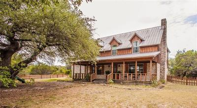 Crawford Single Family Home For Sale: 1044 Bosque Ridge Road