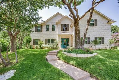 Woodway Single Family Home Under Contract: 10001 Lost Oak Ridge Drive