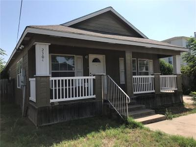 Waco Single Family Home Under Contract: 2304 S 2nd Street