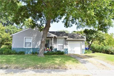 Waco Single Family Home For Sale: 3701 Trice Avenue