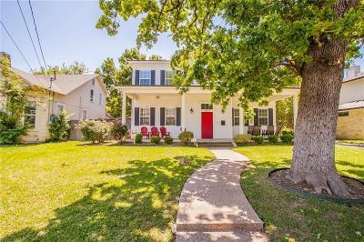 Waco Single Family Home For Sale: 1817 S 9th Street