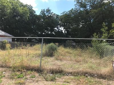 Waco Residential Lots & Land For Sale: 1003 E Clay Street