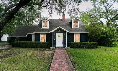 Waco Single Family Home For Sale: 3303 Castle Avenue