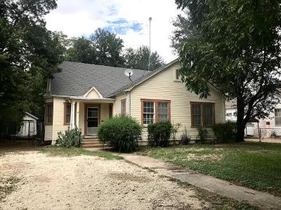 Marlin Single Family Home For Sale: 411 Gift Street