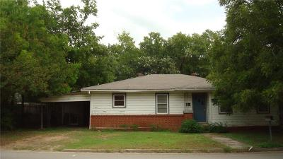 Marlin Single Family Home For Sale: 210 Walker Street