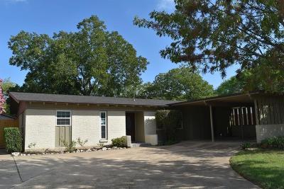 McGregor Single Family Home Under Contract: 112 Crockett Street