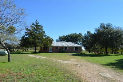 Marlin Single Family Home For Sale: 396 Fm 1771 Road