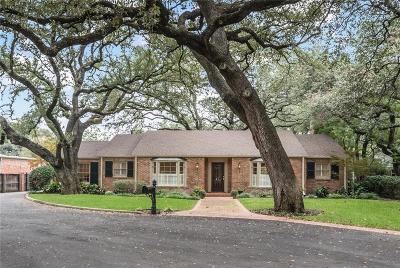 Waco Single Family Home For Sale: 4821 Ridgeview Drive