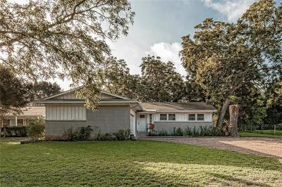 Woodway Single Family Home For Sale: 8800 Panther Drive
