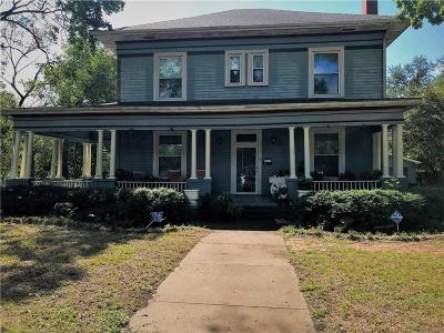 Marlin Single Family Home For Sale: 422 Agnes