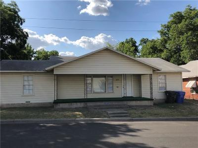 Waco Single Family Home For Sale: 431 Daughtrey Avenue