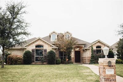 McGregor Single Family Home Under Cont W/Contg: 518 Lariat Trail