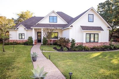 Woodway Single Family Home Under Contract: 8106 Wood Creek Drive