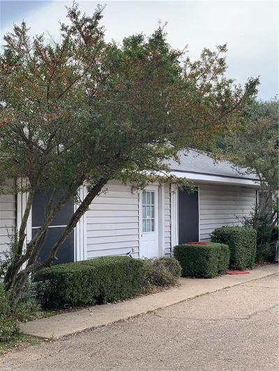 Woodway Multi Family Home For Sale: 8496 Hwy 6