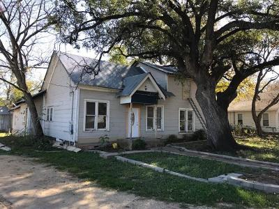 Valley Mills Single Family Home For Sale: 101 N 3rd Street