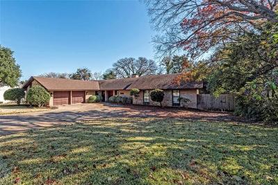 Waco Single Family Home Under Contract: 2605 Woodmont Circle