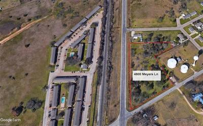 Waco Residential Lots & Land For Sale: 4600 Meyers Lane