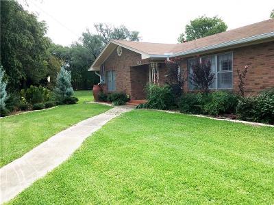 Marlin Single Family Home Under Contract: 715 Oak Lane
