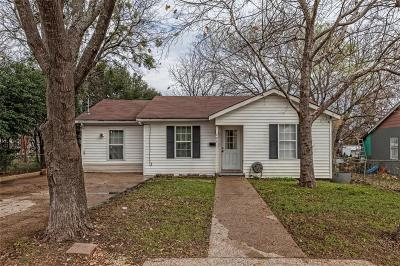 McGregor Single Family Home Under Contract: 203 N Jackson Street
