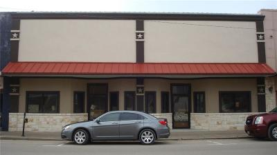 Marlin Commercial For Sale: 138 Live Oak Street