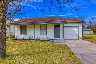 McGregor Single Family Home Under Contract: 1421 W 10th Street