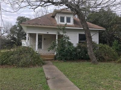 Marlin Single Family Home For Sale: 703 Chilton Street