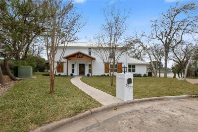 Waco Single Family Home For Sale: 3527 Lake Heights Drive