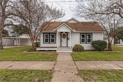 Waco Single Family Home For Sale: 1821 N 28th Street