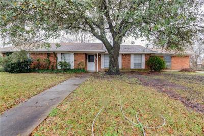 Marlin Single Family Home For Sale: 126 Palm Drive
