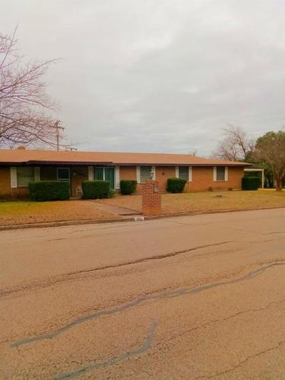 Robinson Single Family Home For Sale: 905 W Denison Drive