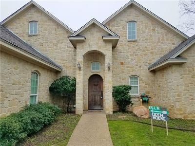 Waco Single Family Home For Sale: 10620 T Bury Lane
