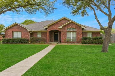 Robinson Single Family Home For Sale: 510 Kiowa Lane