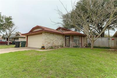 Temple Single Family Home Under Contract: 2709 Alamo Trail