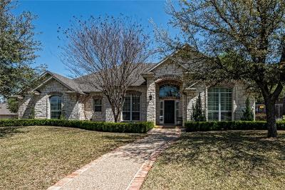McGregor Single Family Home Under Contract: 501 Sienna Bend Trail