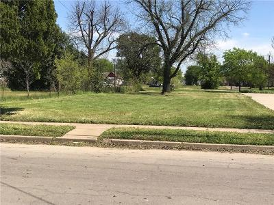 Waco Residential Lots & Land Under Contract: 626 S 12th Street