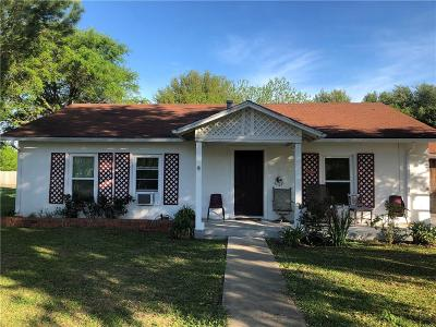 Woodway Single Family Home For Sale: 1084 Speegle Road