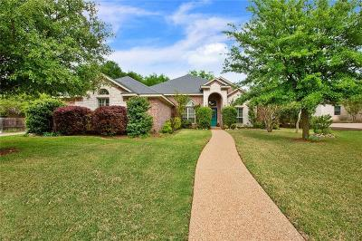 McGregor Single Family Home Under Contract: 507 Sienna Bend Trail