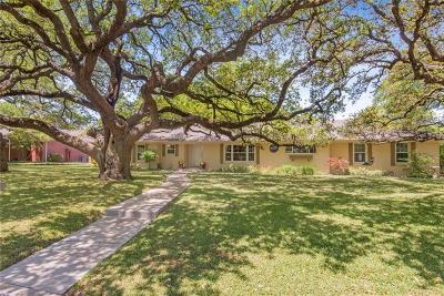 Waco Single Family Home Under Contract: 4901 Meadow Wood Drive