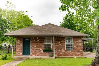 Waco Single Family Home Under Contract: 3609 Wheeler Street