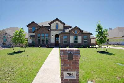 McGregor Single Family Home For Sale: 704 Lariat Trail