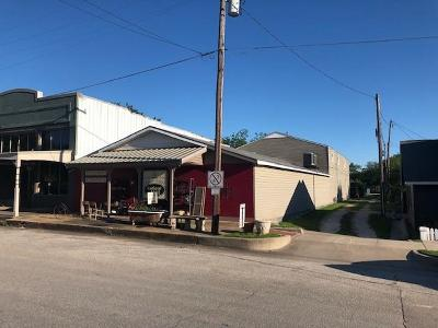 Lorena Commercial For Sale: 109 E Center Street