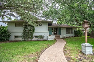 Woodway TX Single Family Home For Sale: $329,000