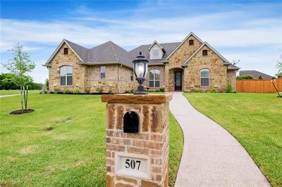 McGregor Single Family Home Active Under Contract: 507 Stone Canyon Drive
