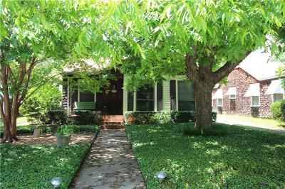 Waco Single Family Home Under Contract: 3021 Colonial Avenue