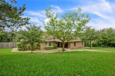 Woodway Single Family Home For Sale: 10006 Lost Oak Ridge Drive
