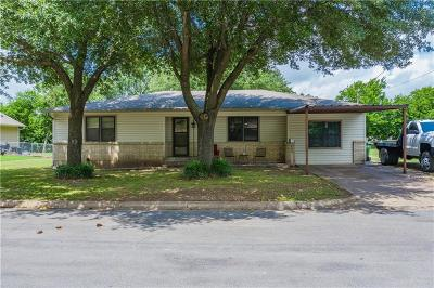West Single Family Home For Sale: 805 N Main Street