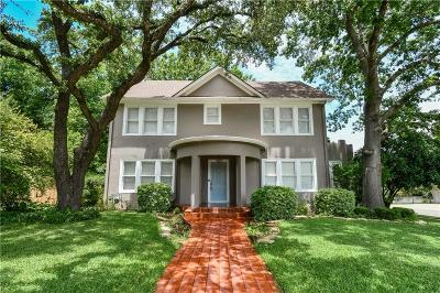 Waco Single Family Home For Sale: 2801 Columbus Avenue