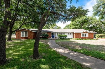 Woodway Single Family Home For Sale: 8800 Whippoorwill Drive